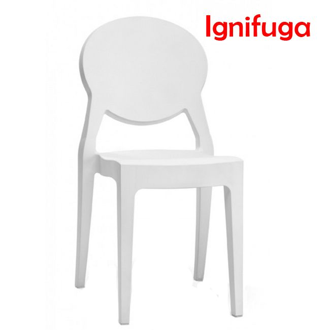 Scab Chairs Igloo Chair, fireproof, stackable, also for garden