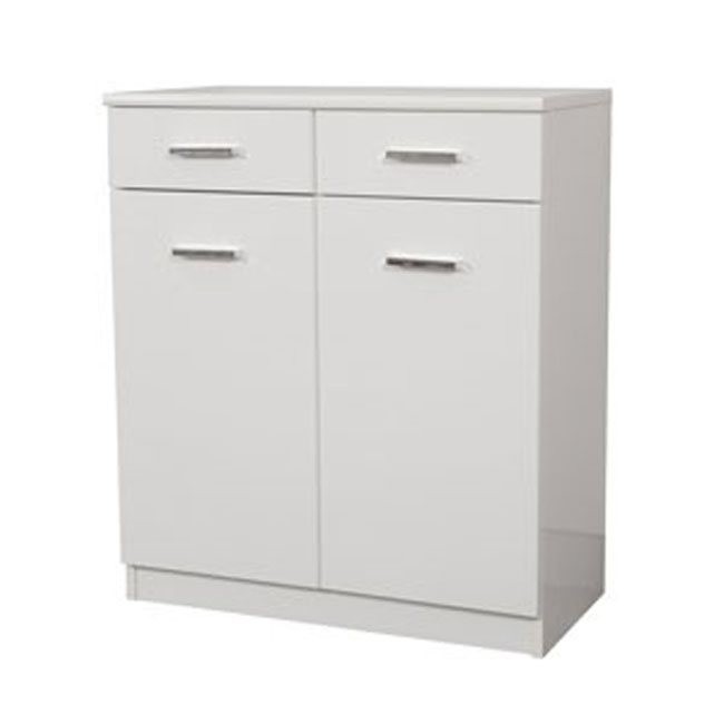 Double base Classica L 69 cm in MDF with doors, drawers and shelves Savini