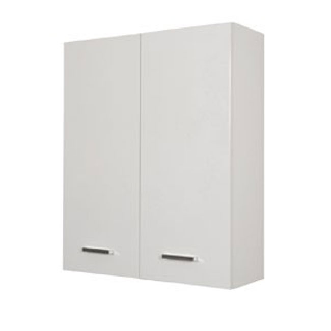 Double wall cabinet Classica L 60 cm with doors and shelves Savini