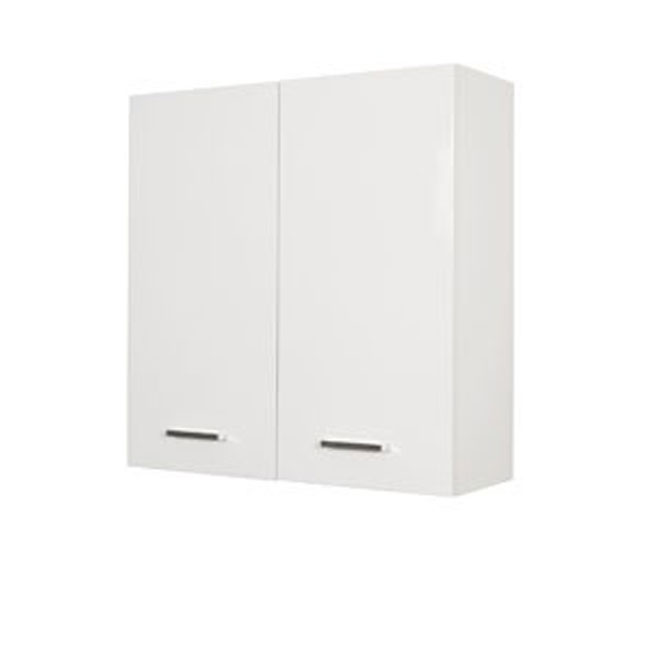 Double wall cabinet Classica L 68 cm in MDF with doors and shelves Savini