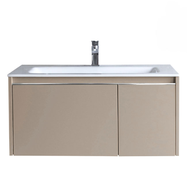 Tomasucci Suspended bathroom cabinet with sink B072 L.80 x H.41 cm