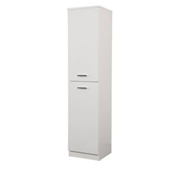 Single column left Classica L 34 cm with doors and shelves Savini