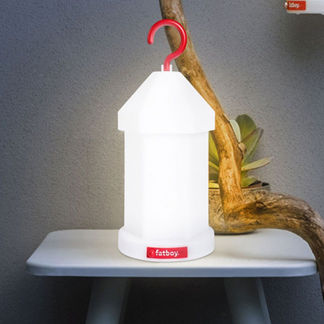 Lamp with rechargeable battery Fatboy Lampie-on LED 11 H 31.7 cm Dimmable