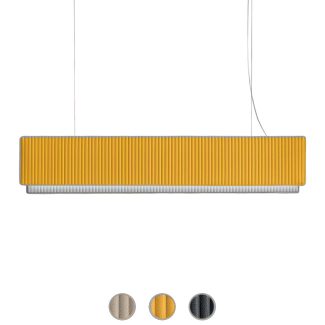 Modo Luce Suspension lamp Righello LED 56W L 160 cm dimmable
