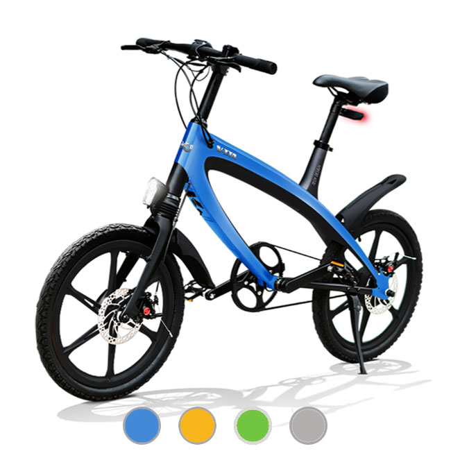 E-City Bike V-ITA Evolution Masterpieces with Bluetooth technology