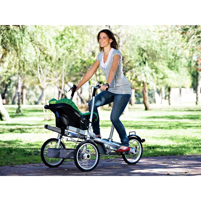 City Bike Taga 1.0 for newborns convertible into a stroller in 20 seconds