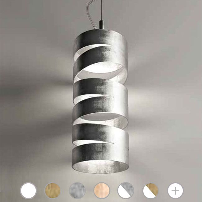Marchetti Slice Pendant lamp Ø 14 cm Various colors