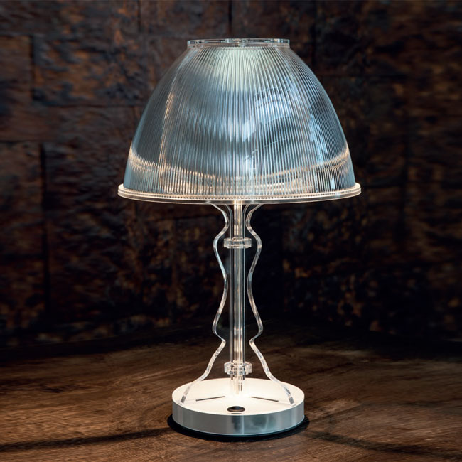 Rechargeable table lamp Vesta Design Lady Media LED 3W H 50 cm
