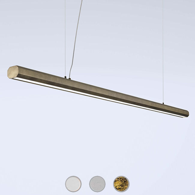 Marchetti suspension lamp Materica Stick LED 30W L 200 cm