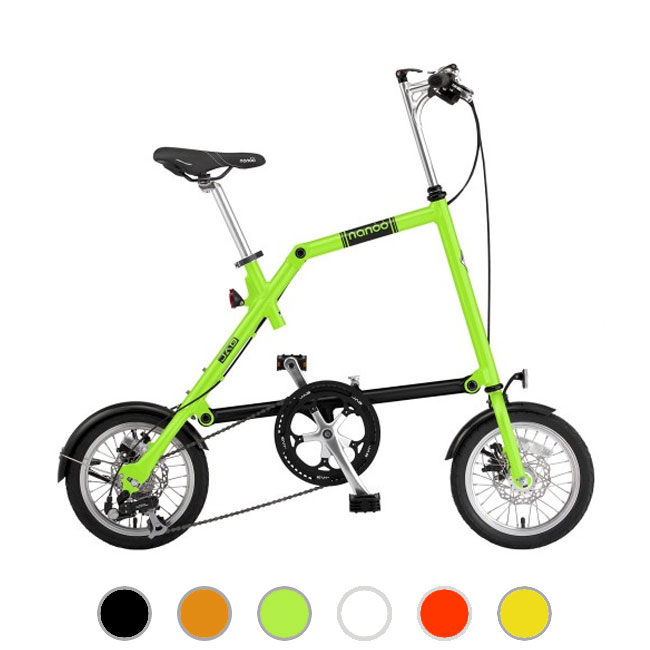 Nanoo FB 14'' folding bike in 10 seconds