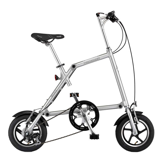 Nanoo FB-R 12''  Dual Speed folding bike in 10 seconds