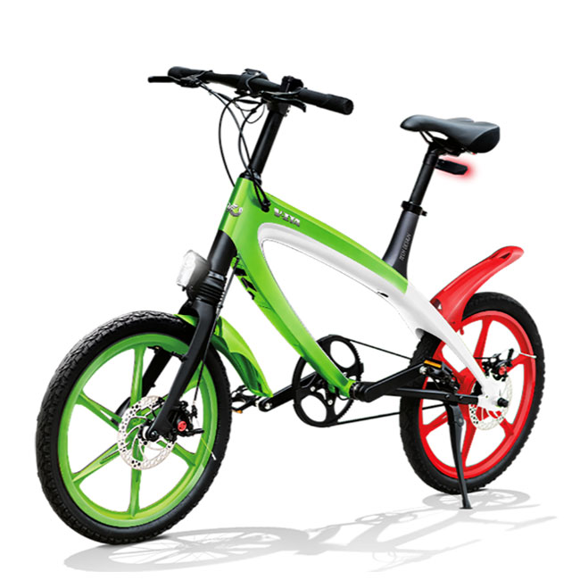V-ITA Iconic Italy Masterpieces Full electric bicycle with antitheft device