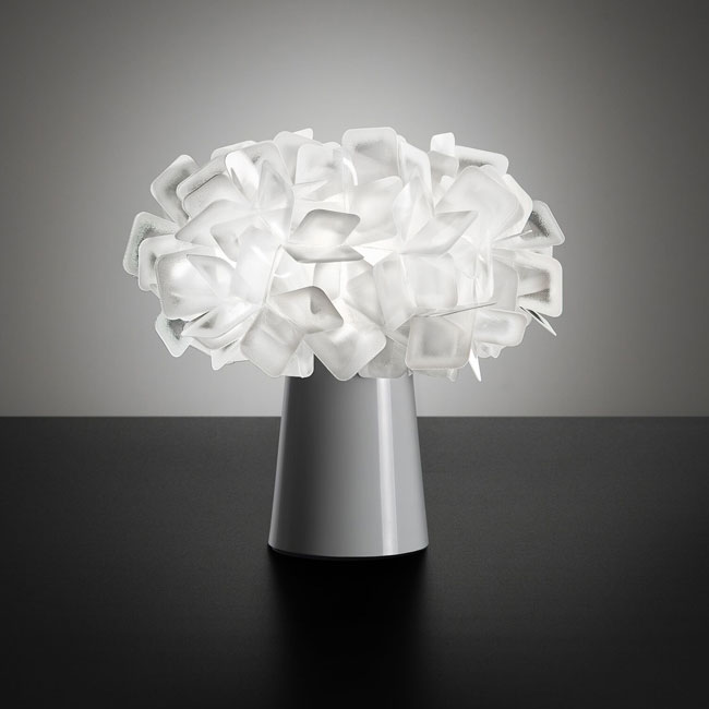 Slamp Clizia Table Lamp Ø 27 cm H 25 cm FLUO  -White