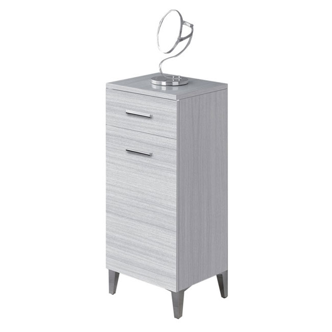 Feridras Arredo Bagno Base with 1 door and 1 drawer L 35 x H 78,5 cm
