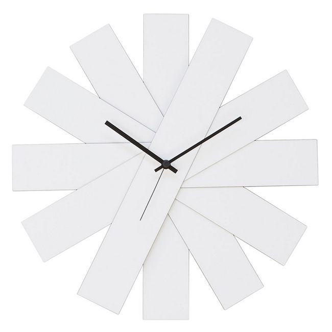 Creativando Orologio da Parete Bianco Rock Around The Clock ø40cm