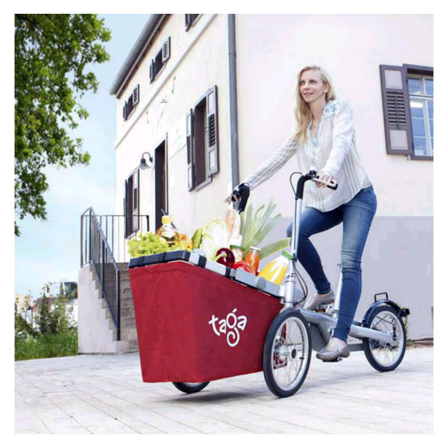 City Bike Taga 1.0 with basket