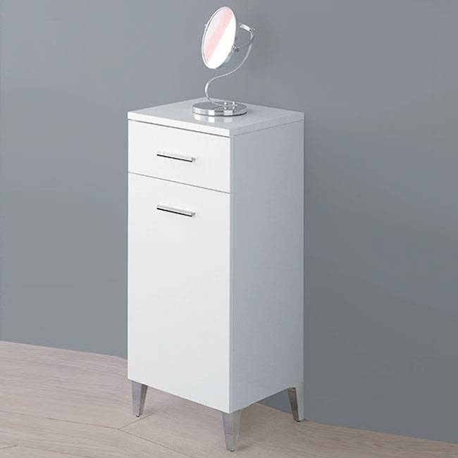 Feridras Arredo Bagno Base with 1 door and 1 drawer Stella L 35 x H 78,5 cm