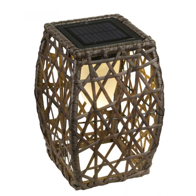 Table lamp with rechargeable solar battery Globo Lighting LED 0.90W H 27.5 cm 33065 Outdoor and Garden