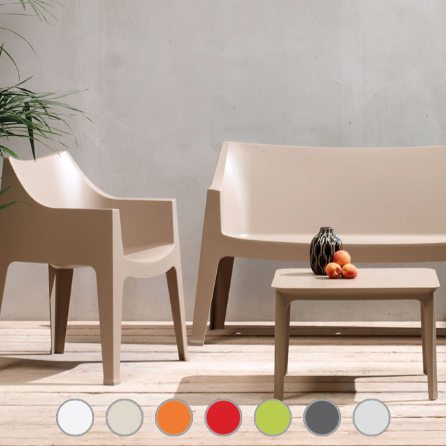 Scab chairs Coccolona, stackable, fireproof, suitable for outdoor