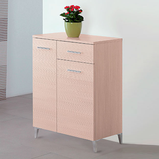 Feridras Arredo Bagno Base with 2 doors and 1 drawer Stella L 60 x H 78,5 cm