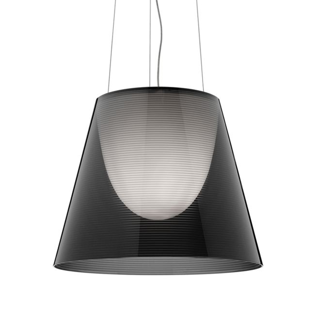 Flos Pendant Light KTribe S1 Ø 24 cm 1 Light Fume'