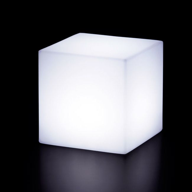 Lamp with rechargeable battery Slide Cubo25 LED RGB 3W L 25 cm IP55