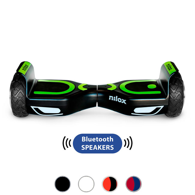 Hoverboard Electric Nilox Doc 2 Hoverboard Plus two engines with total power 360 W