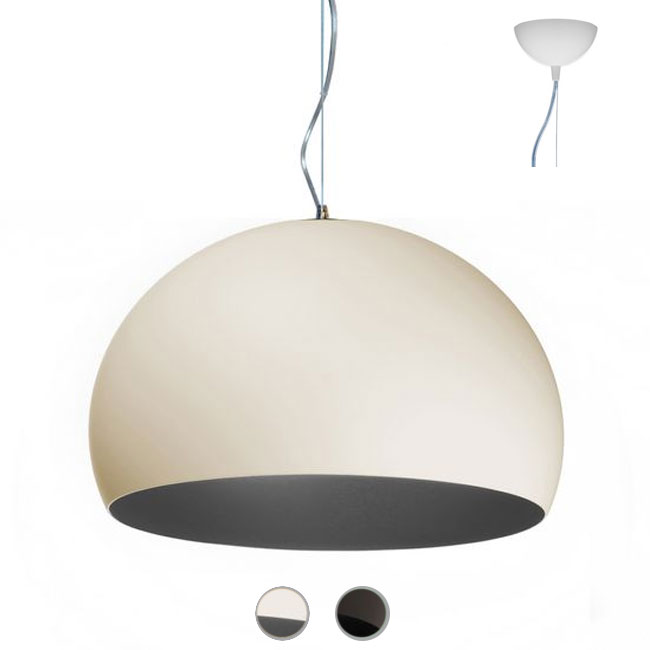 Kartell suspension lamp Big FL/Y 1 luce E27 Ø 83 cm