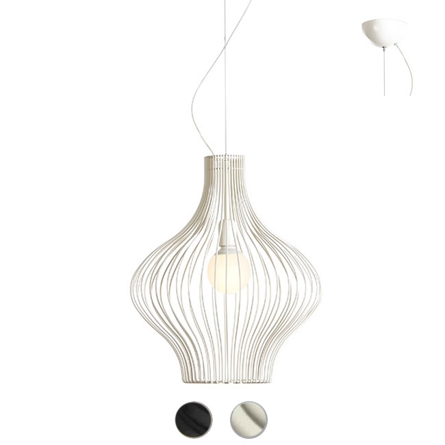 Gibas suspension lamp Titti 1 luce E27 Ø 45 cm