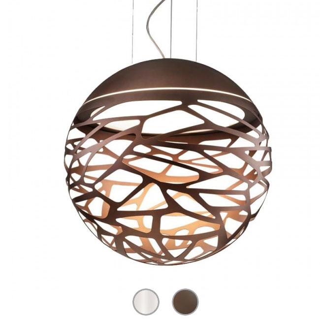 Studio Italia Design Pendant lamp Kelly Sphere 3 lights E27 Ø 80 cm
