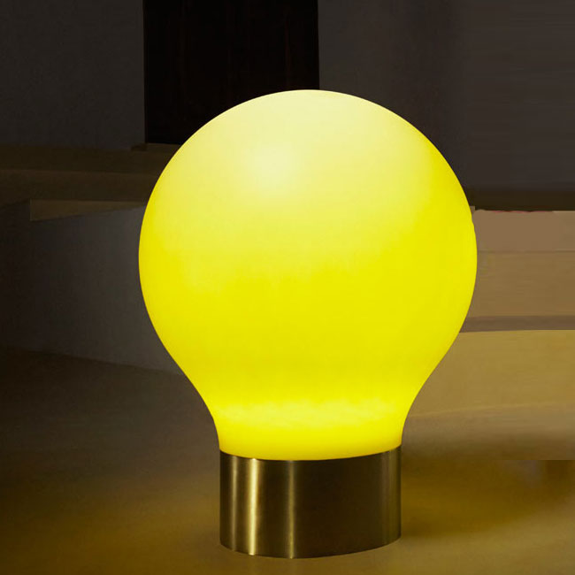 Lamp with rechargeable battery Vondom The Second Light LED RGBW