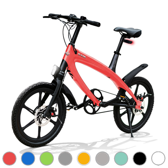 E-City Bike V-ITA Evolution Solid with Bluetooth technology