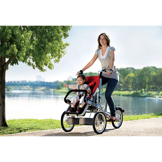 City Bike Taga 1.0 for children from 6 months to 6 years convertible into a stroller 20 seconds