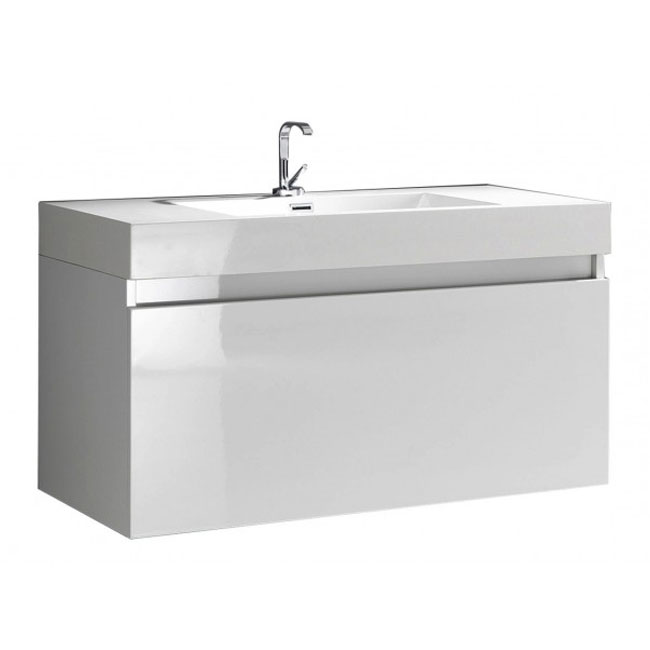 Tomasucci Bathroom Furniture with wall-mounted washbasin B001 L 100 x H 55 cm