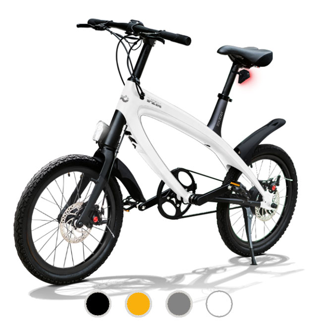 E-City Bike V-ITA Smart Solid with USB input