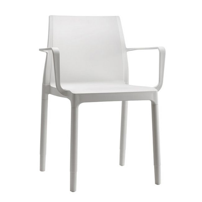 Scab Stackable chair with armrests Chloé Trend Mon Amour H 83 cm