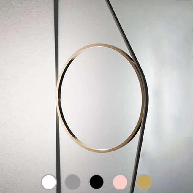 Flos wall lamp Wirering Grigio LED 16W Ø 31 cm dimmable