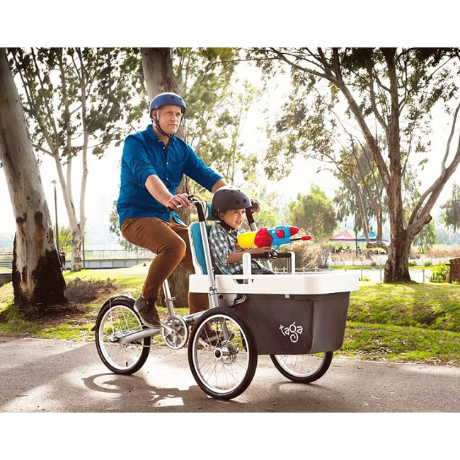 E-City Bike Taga 2.0 with a Seat for children up to 9 years.