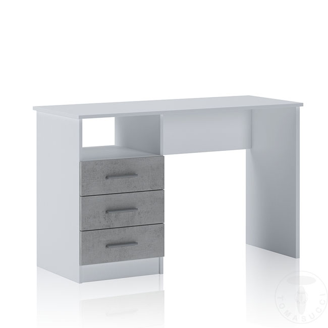 Tomasucci Desk L 120 cm with three drawers Dink