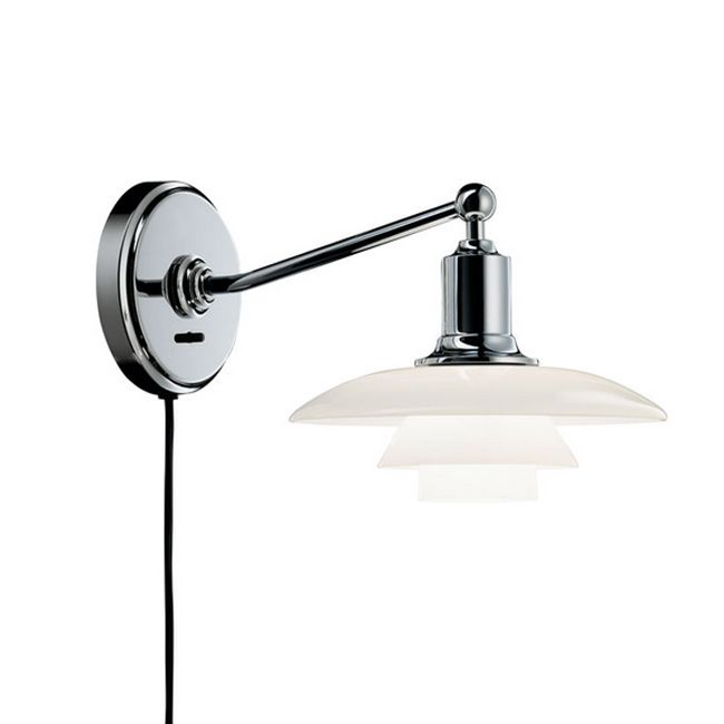 Louis Poulsen Wall lamp PH 2/1 1 light E14 L 29,6 cm