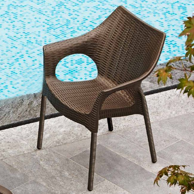 Scab chair Olimpia Trend, stackable, also for garden