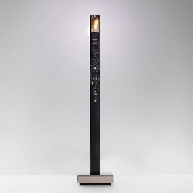 Table lamp with rechargeable battery Ingo Maurer My New Flame LED 0.6W H 40 cm Dimmable black