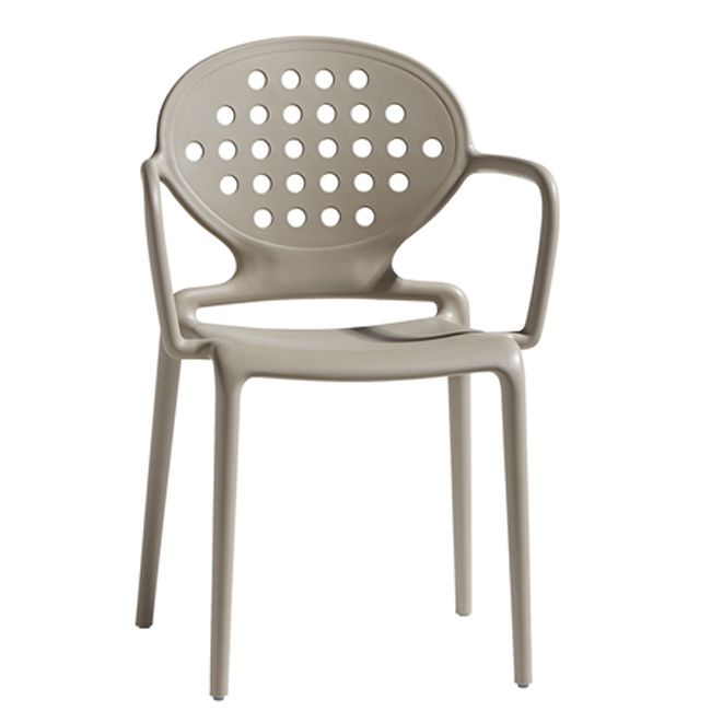 Scab Colette chair with arms , stackable, also for garden