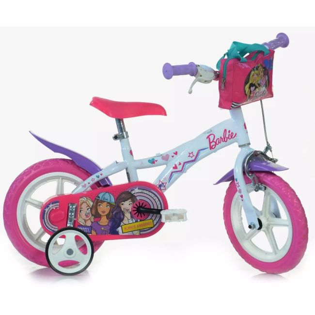 Bicycle for Children 12'' 2 Brakes Barbie
