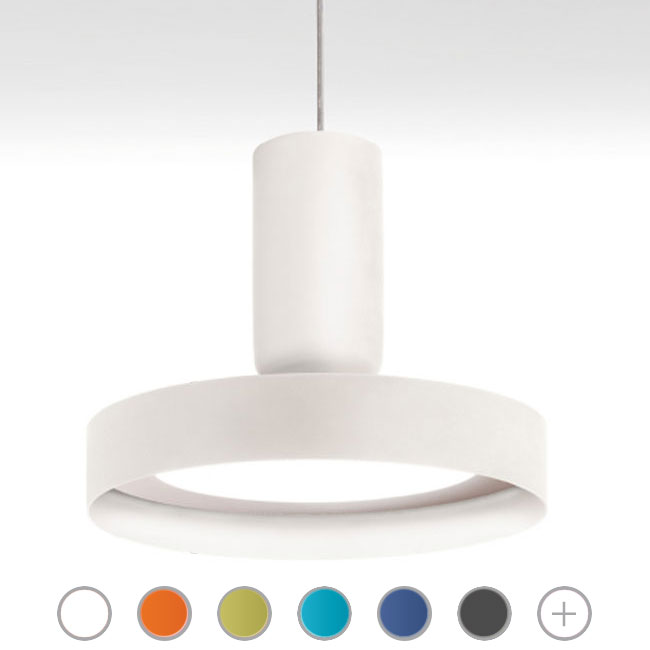 Modo Luce suspension lamp Hammer LED 24W Ø 30 cm dimmable