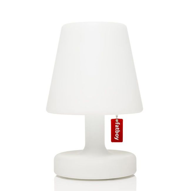 Rechargeable table lamp Fatboy Edison The Petit LED 1 W H 25 cm Dimmable