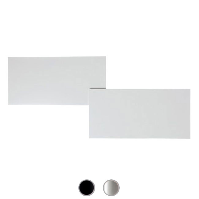 Studio Italia Design wall / ceiling lamp Puzzle Outdoor Double Rectangle LED 34W L 66 cm Outdoor for outdoor and garden