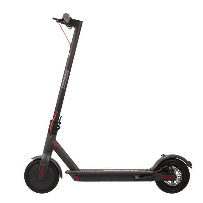 """Ducati 8.5 Pro 1 Plus Electric Scooter insurance AXA """"Family protection"""" included"""