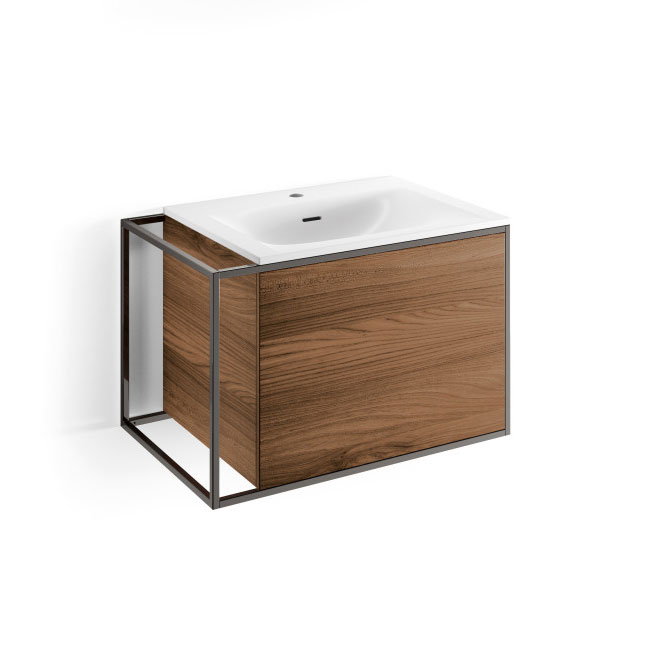 Lineabeta Cabinet with suspended sink Grela L 70.5cm