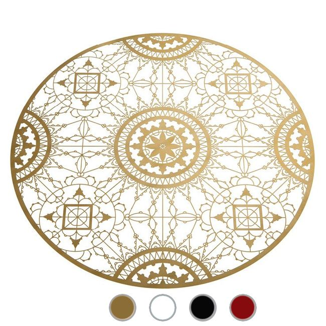 Driade Italic Lace Round placemat Ø 34 cm